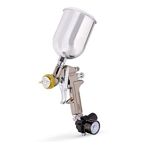 NEIKO 31215A HVLP Gravity Feed Air Spray Paint Gun...