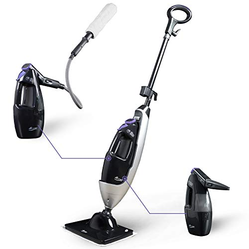 LIGHT 'N' EASY Steam Mop Cleaners 5-in-1 with...