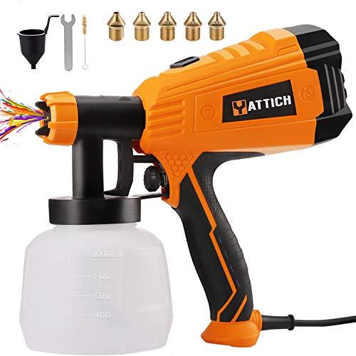 YATTICH Paint Sprayer, 700W High Power HVLP Spray...