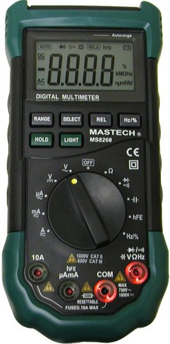 Tekpower Mastech MS8268 Digital AC/DC Auto/Manual...