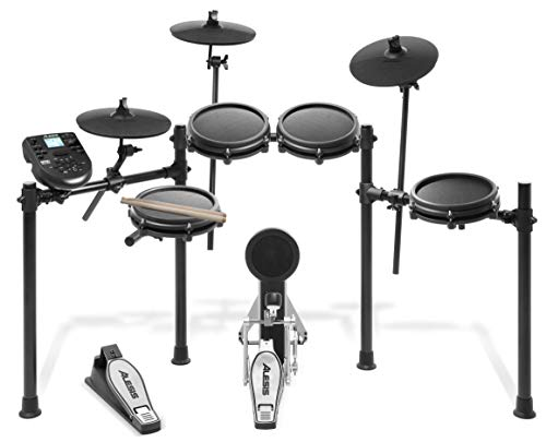 Alesis Drums Nitro Mesh Kit | Eight Piece All Mesh...