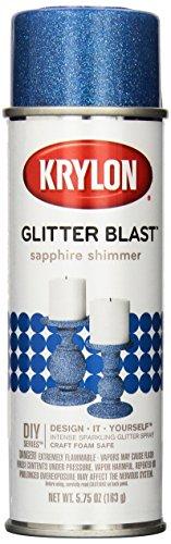 Krylon K03814A00 Glitter Blast Glitter Spray Paint...