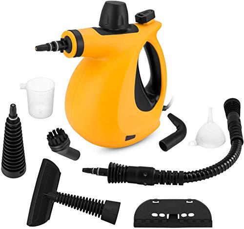 Handheld Steam Cleaner, Pressurized Steam Cleaner...