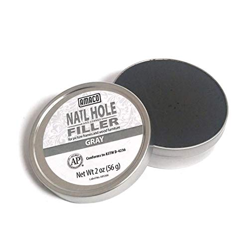 Amaco Nail Hole and Corner Filler for Wood, 2 Oz...