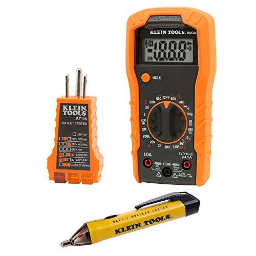 Klein Tools 69149 Multimeter Test Kit, Klein...