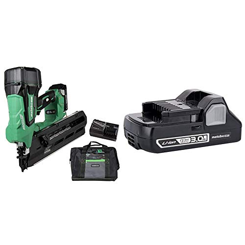 Metabo HPT Cordless Framing Nailer Kit, 18V,...