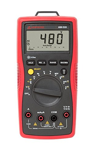 Amprobe - 4018649 AM-520 HVAC Multimeter with...