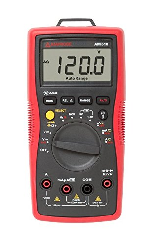 Amprobe AM-510 Commercial/Residential Multimeter...