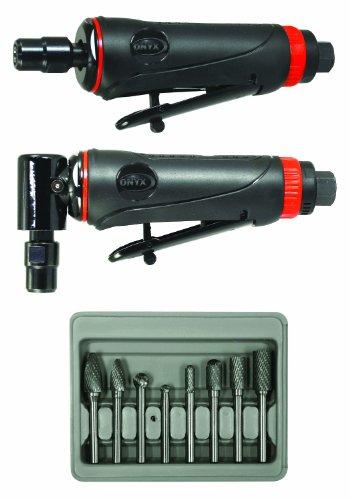 Astro Pneumatic Tool 219 ONYX 3pc Die Grinder Kit...