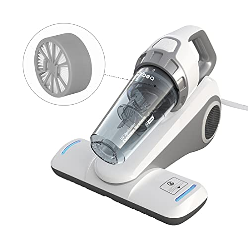 Dibea Bed Vacuum Cleaner with Roller Brush Corded...