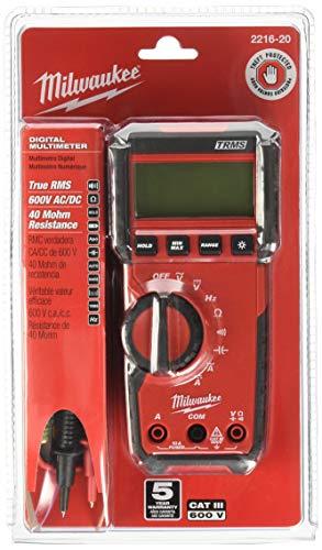 Digital Multimeter,600V,10A,40 MOhms