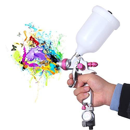 HVLP Gravity Feed Air Spray Gun -Professional Auto...