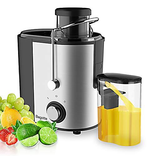 Juicer Machines Bagotte Fruit and Vegetable Juicer...