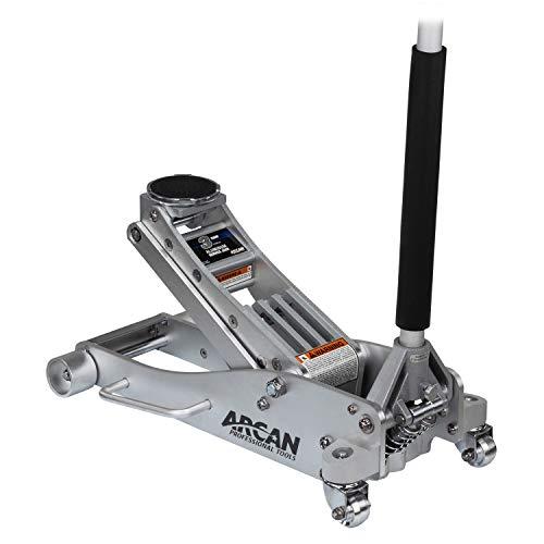 Arcan 3-Ton Quick Rise Aluminum Floor Jack with...