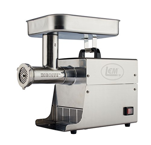 LEM Products 17791 Big Bite #8 .5HP Stainless...