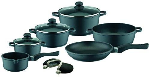 ELO Black Die-Cast Aluminum Kitchen Cookware Pots...