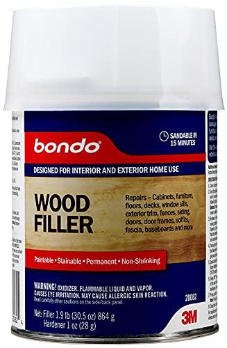 Bondo Home Solutions Wood Filler, Sandable in 15...
