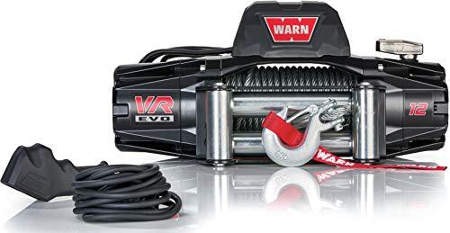 WARN 103254 VR EVO 12 Electric 12V DC Winch with...