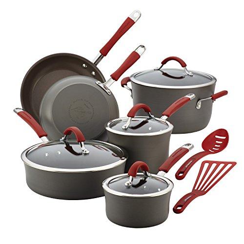 Rachael Ray Cucina Hard Anodized Nonstick Cookware...