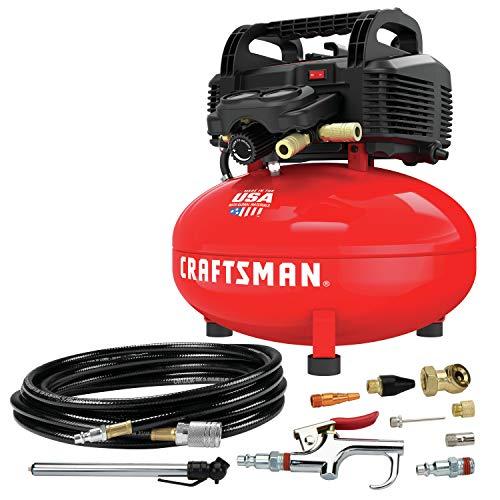CRAFTSMAN Air Compressor, 6 Gallon, Pancake,...