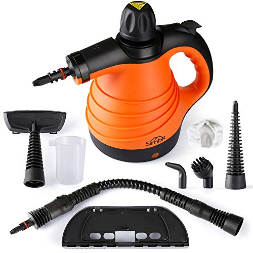 SIMBR Steam Cleaner Handheld with 9 Accessories...