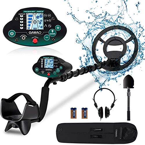 OMMO Metal Detector for Adults & Kids, High...