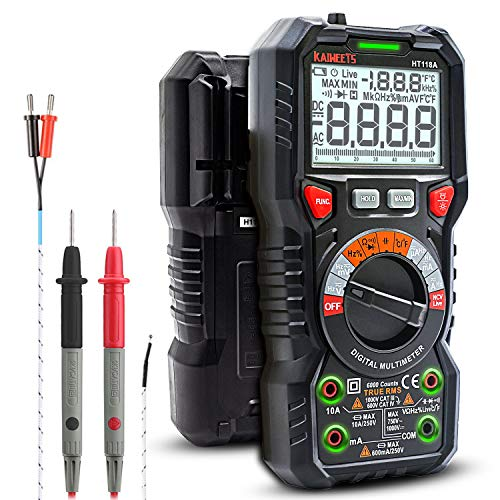 KAIWEETS Digital Multimeter TRMS 6000 Counts...