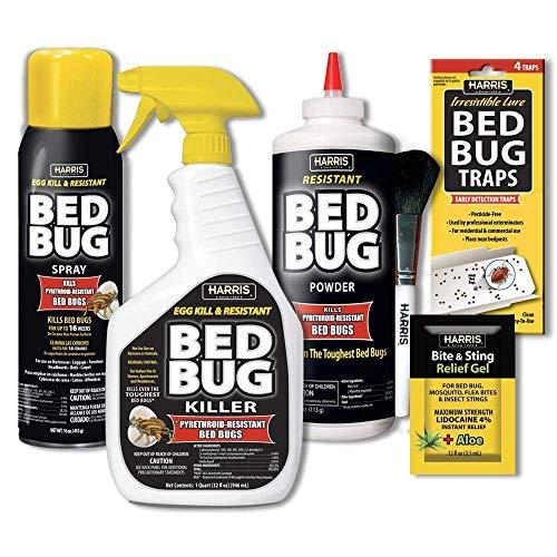HARRIS Bed Bug Killer Value Bundle Kit - 32oz Bed...