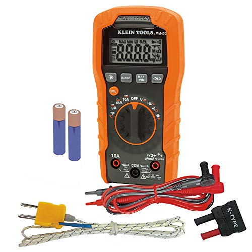 Klein Tools MM400 Multimeter, Auto Ranging Digital...