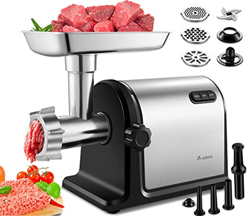 Aobosi Electric Meat Grinder 【2000W Max 】Heavy...