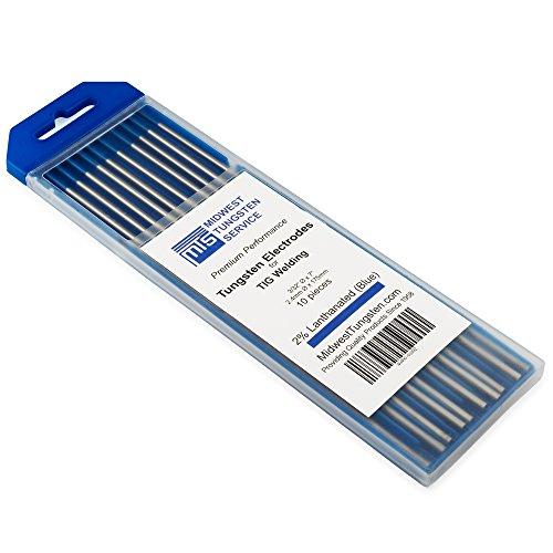 TIG Welding Tungsten Electrodes 2% Lanthanated...