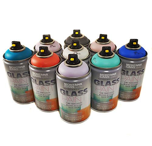 Montana Cans Frosted Glass Effect Spray Paint...