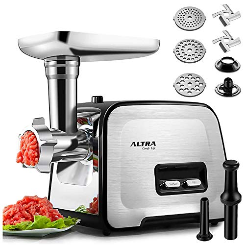 Powerful ALTRA Electric Food Meat Grinder, Heavy...