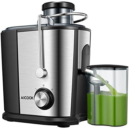 Juicer Wide Mouth Juice Extractor, Aicook Juicer...