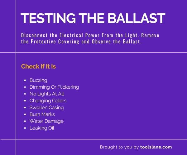 Detecting Bad Ballast